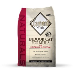 Naturals Indoor Chicken & Rice Formula Dry Cat Food 18lb