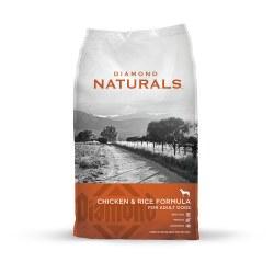 Naturals Chicken & Rice Formula Dry Dog Food 40lb