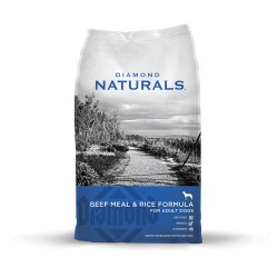 Naturals Beef & Rice Formula Dry Dog Food 40lb