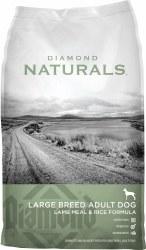 Naturals Large Breed Lamb & Rice Formula Dry Dog Food 40lb
