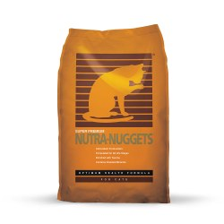 Nutra-Nuggets Optimum Health Dry Cat Food 20lb