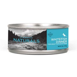 Naturals Whitefish Dinner Canned Cat Food 5.5oz