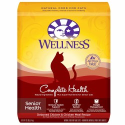 Complete Health Senior Recipe Dry Cat Food 6lb