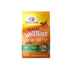 WellBars Lamb & Apples Dog Biscuits 20oz