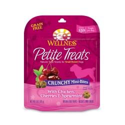 Petite Treats Crunchy Mini-Bites with Duck, Mango & Coconut Dog Treats 6oz