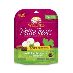 Petite Treats Soft Mini-Bites with Lamb, Apples & Cinnamon Dog Treats 6oz
