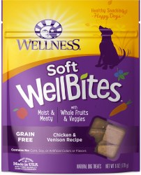 WellBites Chicken & Venison Dog Treats 6oz