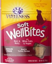 WellBites Beef & Turkey Dog Treats 6oz