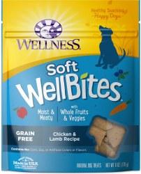 WellBites Chicken & Lamb Dog Treats 6oz