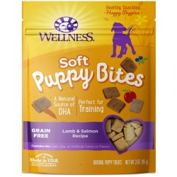 Puppy Bites Soft Lamb & Salmon Dog Treats 3oz
