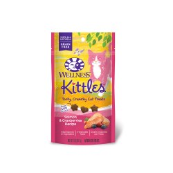 Kittles Salmon & Cranberries Recipe Cat Treats 2oz
