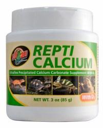 Repti Calcium with D3 Reptile Vitamin Supplement 3oz