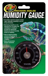 Precision Analog Terrarium Humidity Gauge