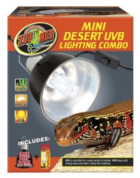 Mini Desert UVB Lighting Combo Lamp