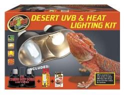 Desert UVB & Heat Lamp Lighting Kit
