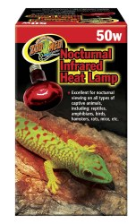 Nocturnal Infrared Heat Lamp Bulb 50w