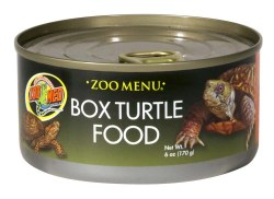 Zoo Menu Box Turtle Canned Food 6oz
