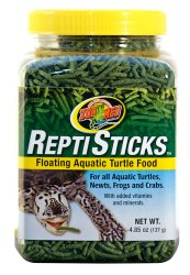 ReptiSticks Floating Aquatic Turtle Food 4.85oz