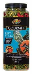 Gourmet ReptiSticks Floating Aquatic Turtle Food 8.5oz