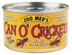 Can O' Crickets Canned Reptile Food 1.2oz