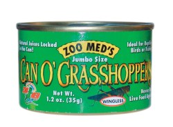 Can O' Grasshoppers Canned Reptile Food 1.2oz