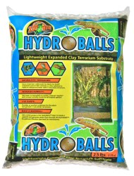 HydroBalls Expanded Clay Terrarium Substrate 2.5lb