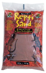 ReptiSand All Natural Terrarium Substrate Natural Red 10lb
