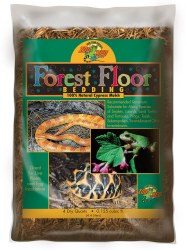 Forest Floor Natural Cypress Mulch Reptile Bedding Substrate 4qt