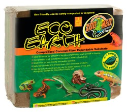 Eco Earth Compressed Coconut Fiber Substrate 7-8L 3pk