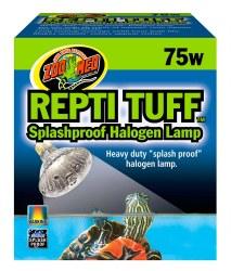 Repti Tuff Splashproof Halogen Lamp Bulb 75w
