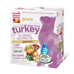 Grace Grain Free Turkey Recipe Dehydrated Cat Food 4lb