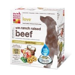 Love Grain Free Beef Recipe Dehydrated Dog Food 4lb