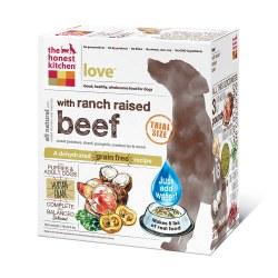 Love Grain Free Beef Recipe Dehydrated Dog Food 2lb