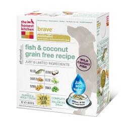Brave Grain Free Fish & Coconut Recipe Dehydrated Dog Food 4lb