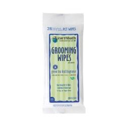 Green Tea Leaf Grooming Wipes 28pk