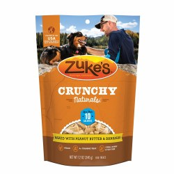 Crunchy Naturals 10s Baked with Peanut Butter & Banana Dog Biscuits 12oz