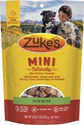 Mini Naturals Duck Recipe Dog Treats 16oz
