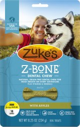 Z-Bone Apple Dental Dog Chews Mini