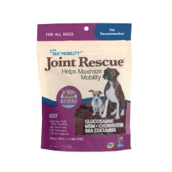 Sea Mobility Joint Rescue Beef Jerky Pet Treats 9oz