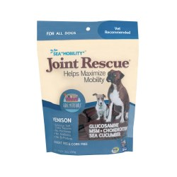 Sea Mobility Joint Rescue Venison Jerky Pet Treats 9oz