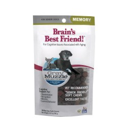 Gray Muzzle Brain's Best Friend! Senior Pet Treats 90ct