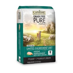 Grain Free Pure Resolve Weight Management Dry Dog Food 24lb