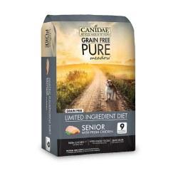 Grain Free Pure Meadow Senior Dry Dog Food 24lb