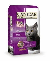 Life Stages Indoor Formula Dry Cat Food 4lb