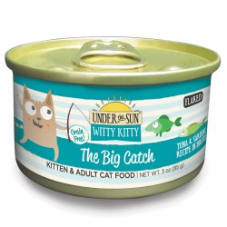 Under The Sun Witty Kitty The Big Catch Canned Cat Food 3oz
