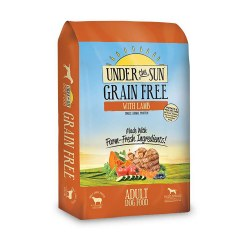 Under The Sun Grain Free Lamb Recipe Dry Dog Food 4lb