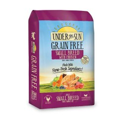 Under The Sun Grain Free Small Breed Dry Dog Food 4lb