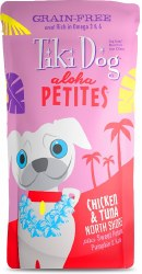 Aloha Petites Chicken & Tuna North Shore Pouch Dog Food 3.5oz