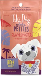 Aloha Petites Beef Bisque Flavor Booster Dog Meal Topper 1.5oz
