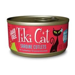 Bora Bora Grill Sardine Cutlets Canned Cat Food 2.8oz